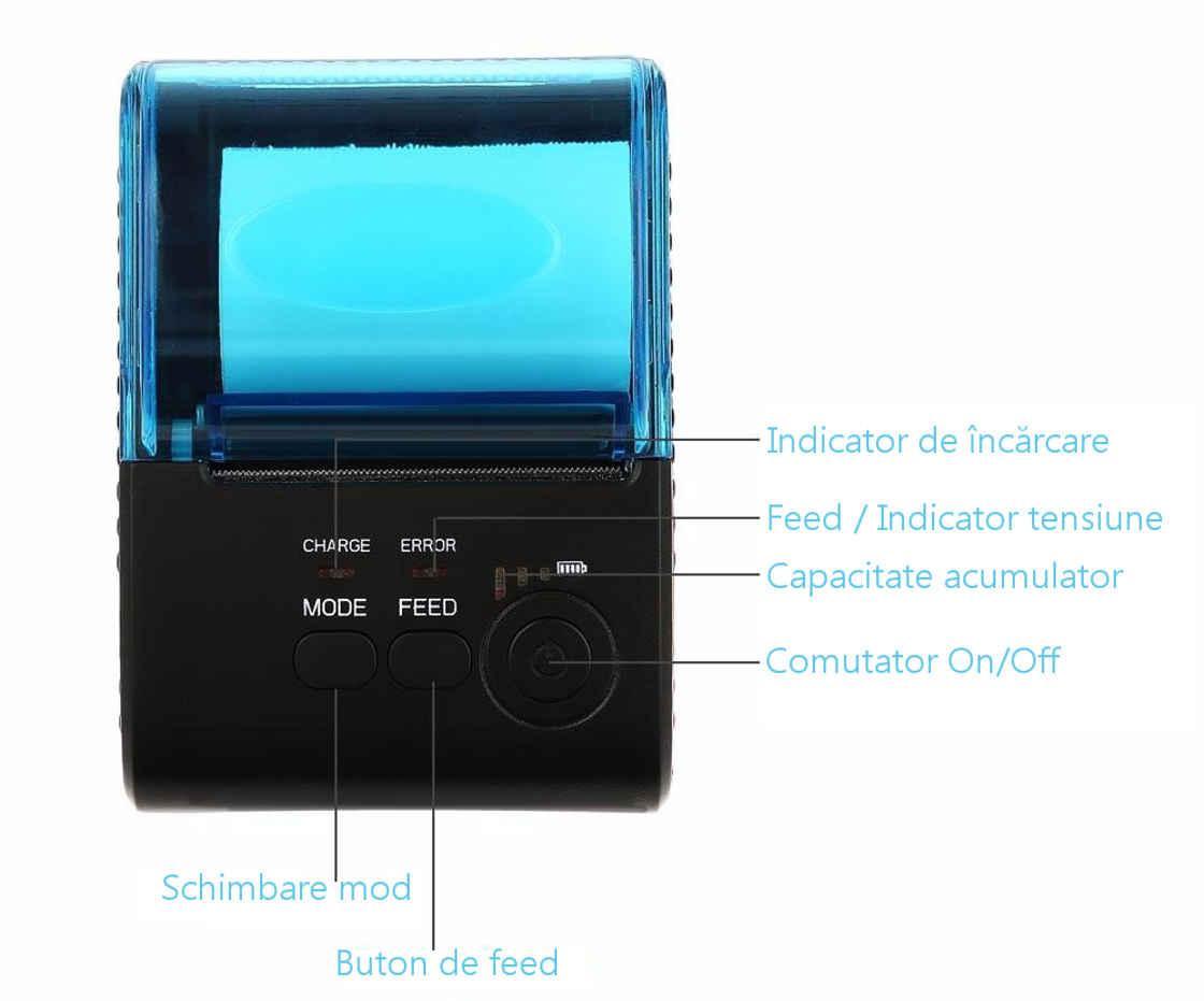 Imprimanta termica ZJ 5805-8