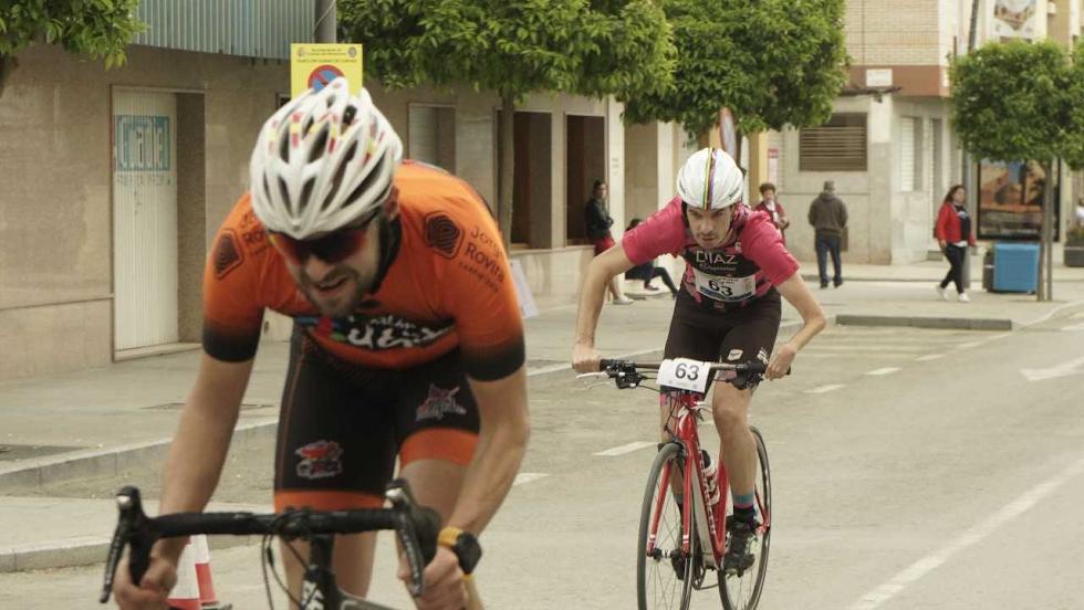 Díaz ganó en ciclismo adaptado.