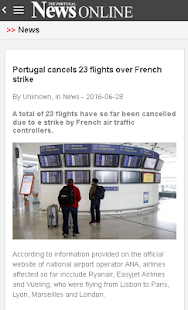 The Portugal News Online- screenshot thumbnail