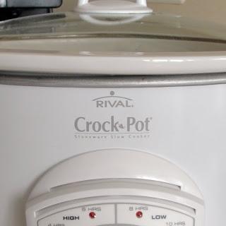 EASY Crockpot Chicken & Stuffing.