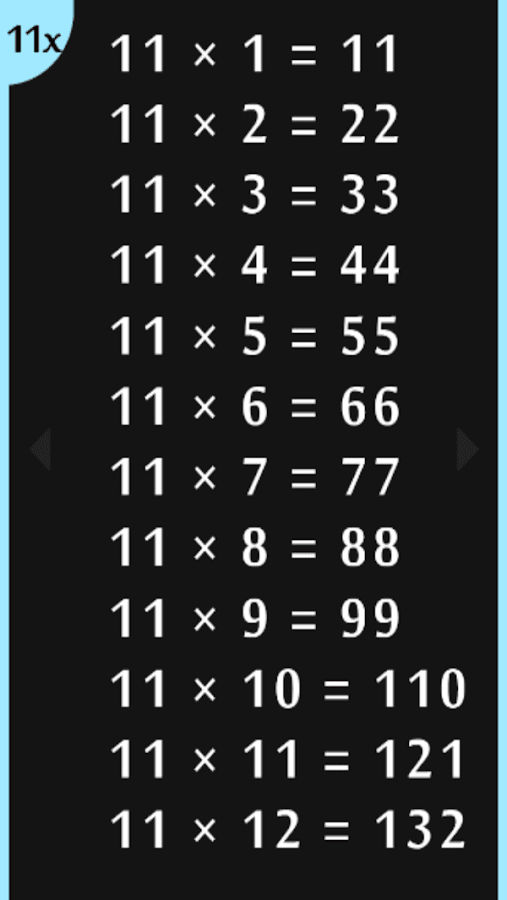 50 times tables multiplication android apps on google play for 13 times table games