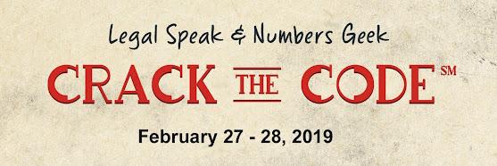 Crack The Code: Legal Speak & Numbers Geek