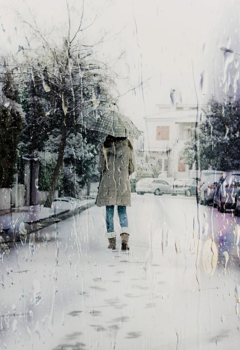 Sola nella neve di stefytina