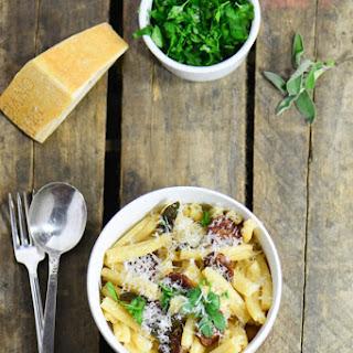 Sage Butter Sausage Pasta