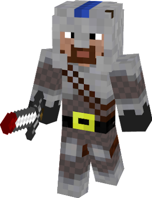 A righteous armoured warrior from the Red Dragon mod that is still under development.