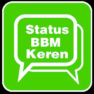 Status BBM Keren - náhled