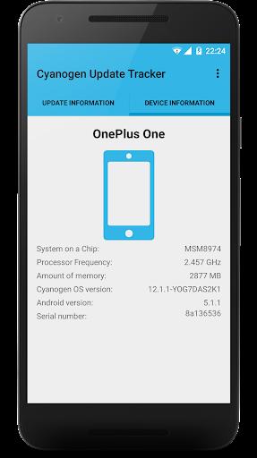Cyanogen Update Tracker ss3