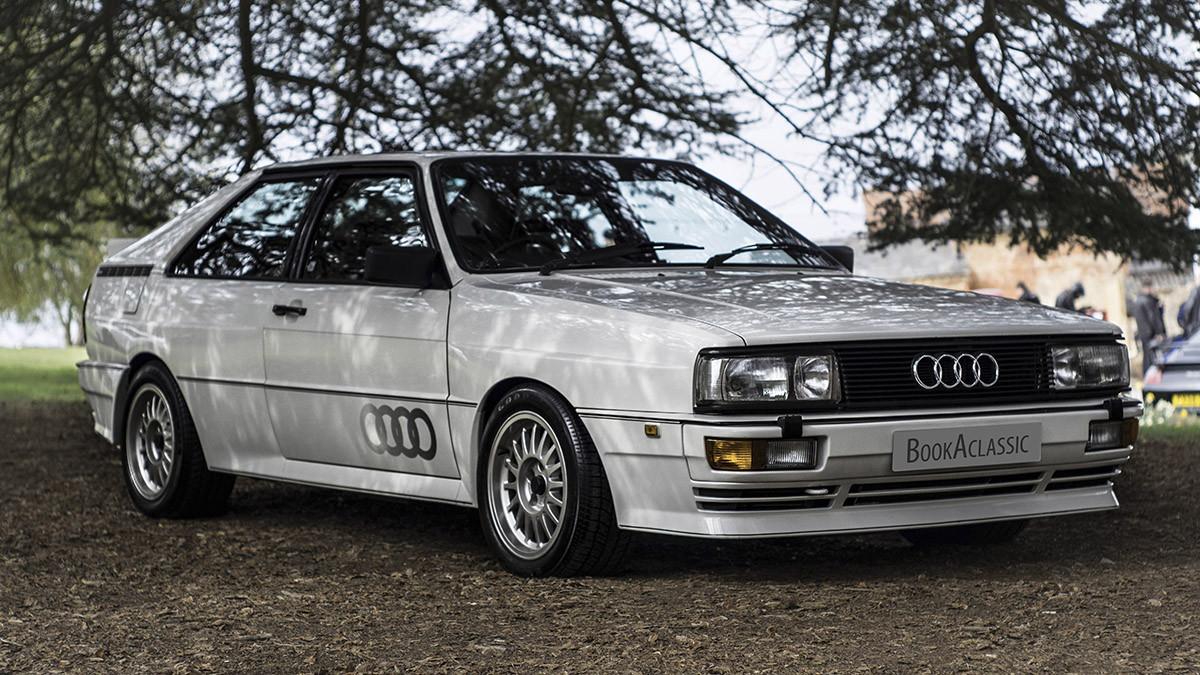 Audi Quattro Turbo Hire Bristol
