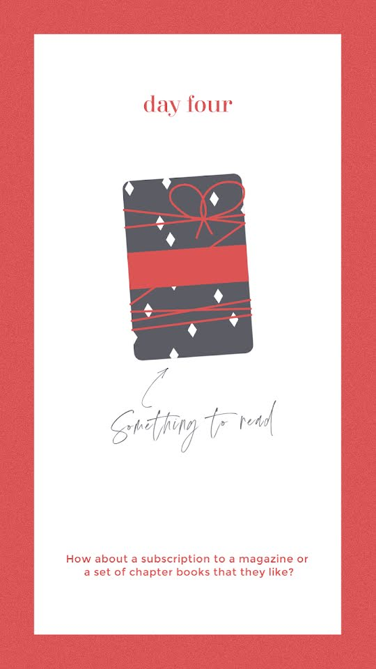 Something to Read - Christmas Template