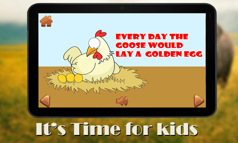 Golden Egg goose kids-Story- screenshot
