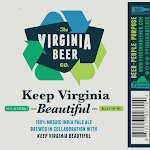 Virginia Beer Co. Keep Virginia Beautiful