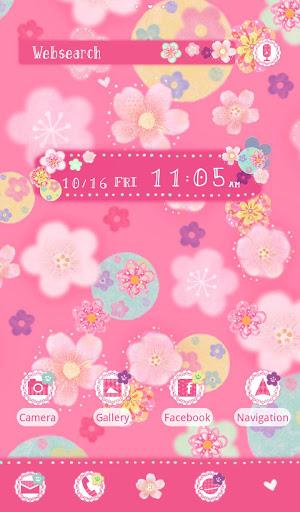 Cute Theme-Flowers and Circles 1.0.1 Windows u7528 5