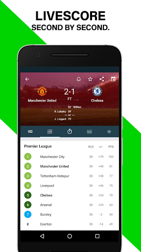 Forza Football - Live soccer scores - screenshot