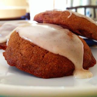 Glazed Pumpkin Cookies {Gluten Free}