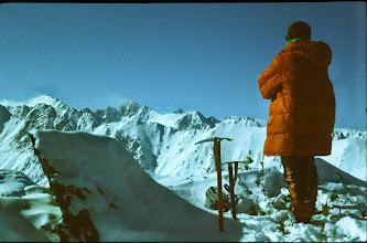 Photo: Fagarash (Rumänien) im Winter, 1985
