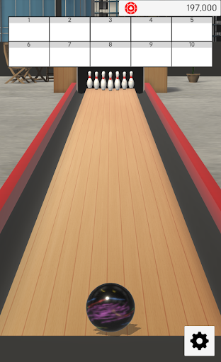 Real Bowling 3D -Physics Engine Bowling Game- screenshots 2