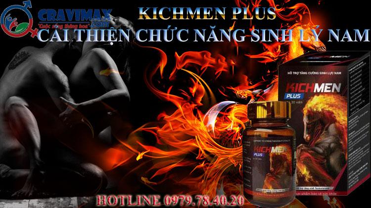 Thực phẩm chức năng sinh lý Kichmen Plus giá bao nhiêu - 262155