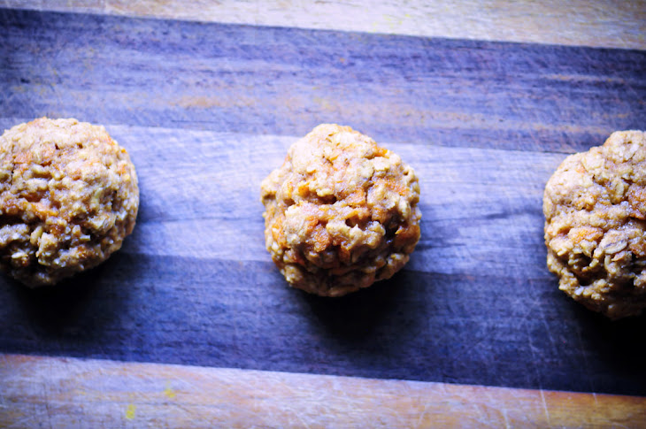 Gluten Free Carrot Cake Oatmeal Cookies Recipe