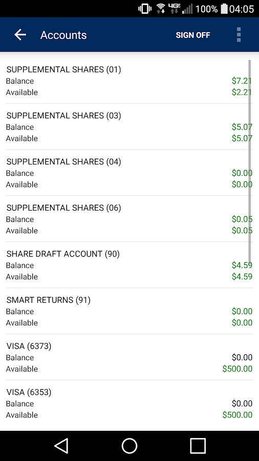 WyHy Mobile Banking- screenshot