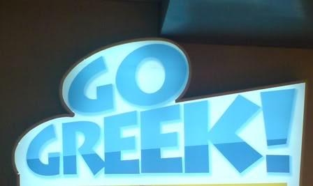 Go Greek! logo