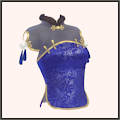 富貴の花(青)
