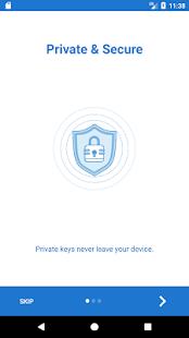Trust - Ethereum Wallet - náhled