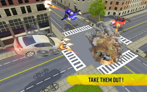 Flying Car Shooting Game: Modern Car Games 2020 screenshots 11