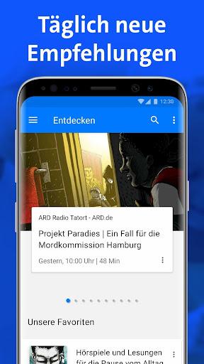 ARD Audiothek 1.41 screenshots 1