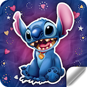 Blue Koala Stitch Stickers for WhatsApp