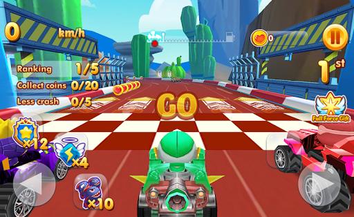 Super Chibi Race: Robot Kart Drift Car Racing Game 1.1.23 {cheat|hack|gameplay|apk mod|resources generator} 2