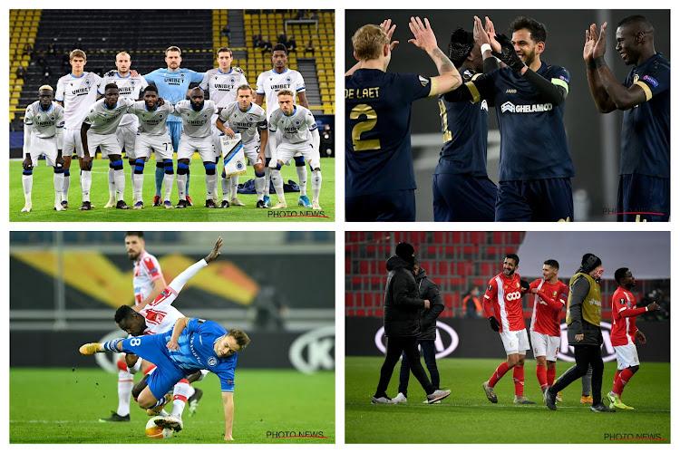 De scenario's voor Europese overwintering voor de Belgische teams op een rijtje - wie ziet u het halen? (POLL!)