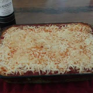 Baked Spaghetti Casserole.