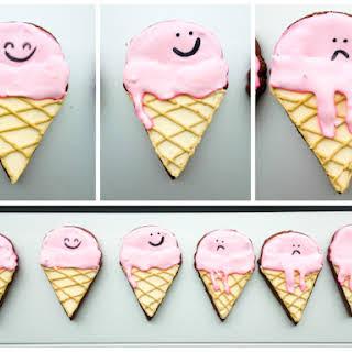 3D Printers & Ice Cream Cone Cookies.