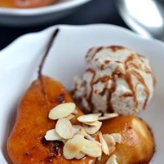 Spiced Caramel Pears