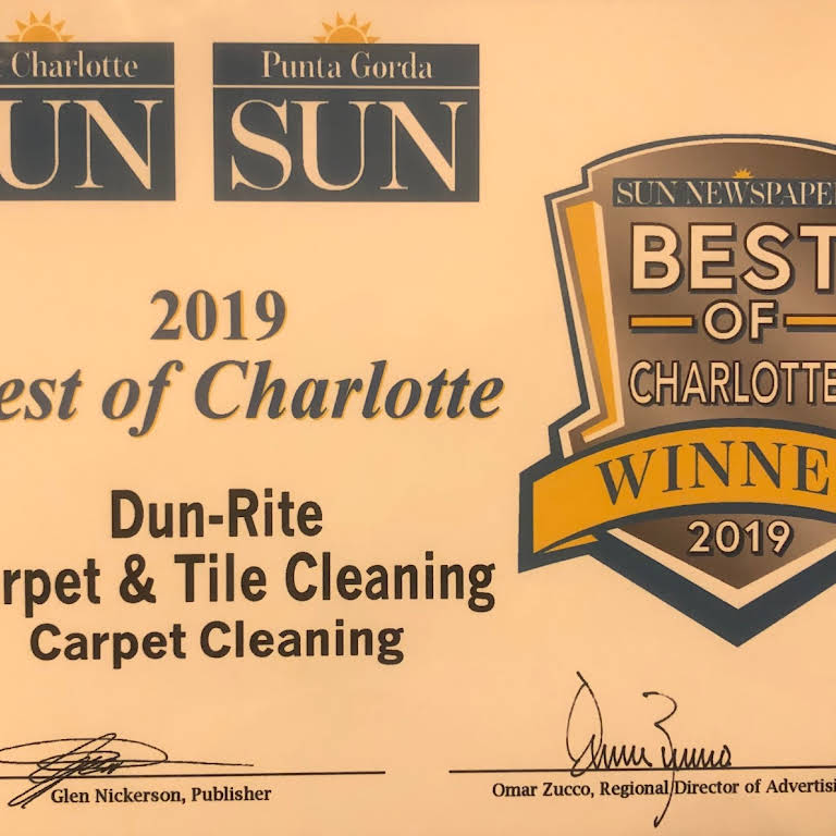 dun rite carpet tile cleaning business site