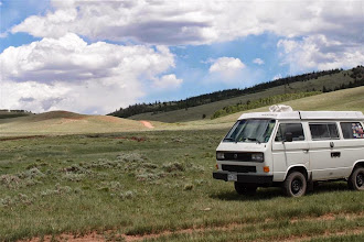 Photo: Heading up to Sand Creek Pass--a nice Westy lunch spot in the middle of...nowhere.