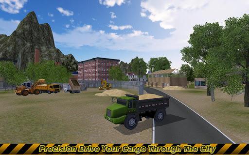 Loader & Dump Truck Simulator  screenshots 4