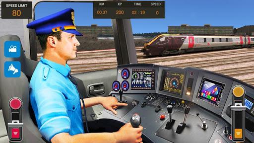 City Train Driver Simulator 2019: Free Train Games apktreat screenshots 1