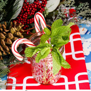 Ginger Beer Cocktails – Peppermint Ginger Sparkle.