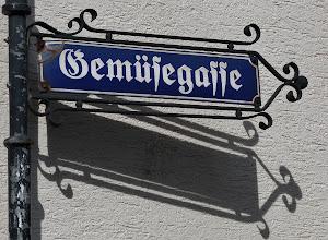 Photo: Straßenschild in der Koblenzer Altstadt