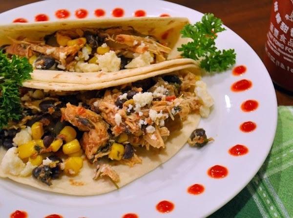 Slow Cooker Cilantro Lime Chicken Tacos Recipe