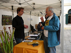 Photo: The EEE 2008 in Mira, Italy. Stewart McPherson and Siggi. In behind Anja Hennern.