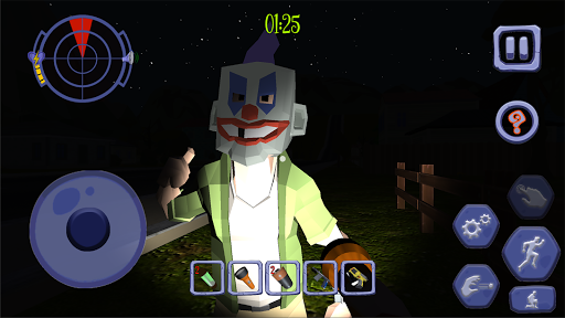 Code Triche Scary Clown Man Neighbor. Escape APK MOD screenshots 5