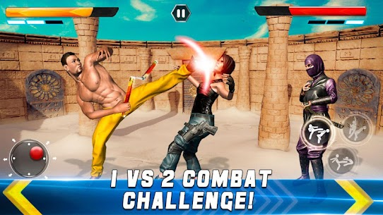 Real Superhero Kung Fu Fight Champion – New Games 4