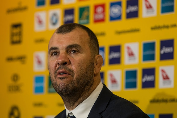 Wallabies head coach Michael Cheika speaks at a press conference after The Rugby Championship match between the Australian Wallabies and the South Africa Springboks at nib Stadium on September 9, 2017 in Perth, Australia.