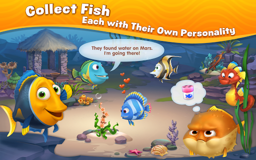 (APK) تحميل لالروبوت / PC Fishdom ألعاب screenshot