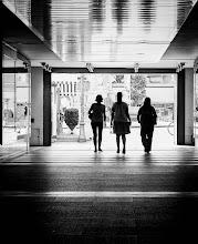 Photo: Bolzano #33 - girlfriends...  #street #streetphotography #shootthestreet #blackandwhite #blackandwhitephotography #bw #monochrome #bolzano