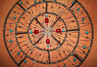 Photo: AFRICA - Detail  Hemp string, glass, wooden and copper beads