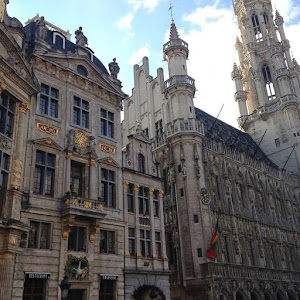 Brussels City Center - Travel Love Story