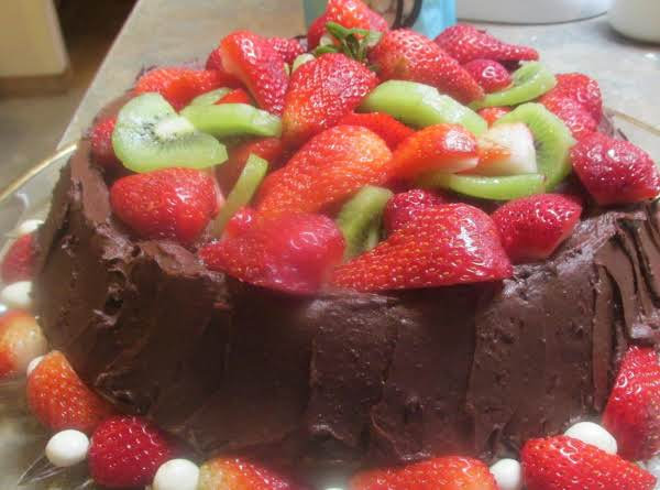 Sugar Free Lemon Lime Cake W/fresh Fruit Recipe